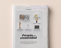 Diseño de suplemento para El Cronista Comercial