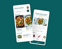 Meal Planning App Design Concept