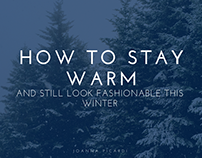 Joanna Picardi | Stay Warm and Fashionable this Winter