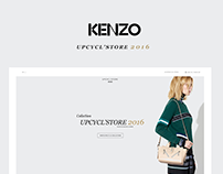Kenzo - concept upcycling store