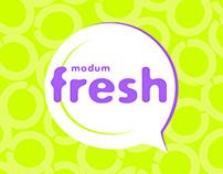 Modum Fresh cosmetics - concept packaging (2018)