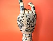 hand mannequin