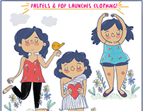 Social Media campaign for Pastels&Pop