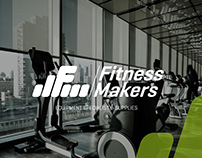 Fitness Makers Logo Branding