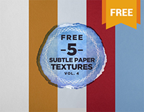 5 Free Paper Background Textures
