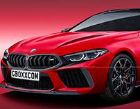 2020 BMW M8 GC Wild Cherry