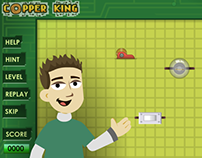 Kids Game UI - Aha Science.com