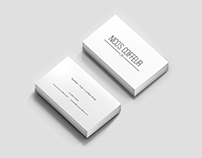 Barber Shop - Business Card