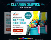 Cleaning Company Banners