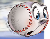 Baseball season from the balls point of view.