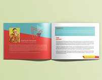 Kids Creative Power Art booklet, Brochure and Biz Card