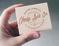 Cheap Luck Co. Branding