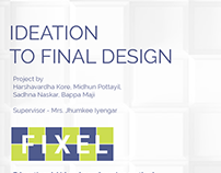 FIXEL(Educational aid) - Ideation to Final design