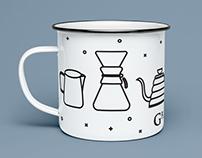 Greyhouse Coffee Mug