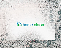 home clean - visual identity