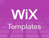 WIX Templates - Landing Page