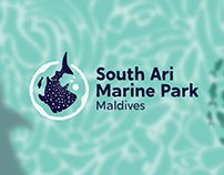 South Ari Marine Park Logo Design