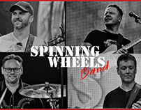 Scott Scovill & Spinning Wheels Band Tour Posters