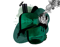 AMAZING GREEN | COMME DES GARCONS