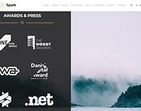 Spark WordPress Theme - Awards Section