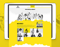 FOK Digital Agency | UI Design & Illustrations
