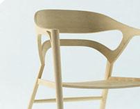 扶手椅与书案