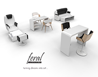 Design of equipment for beauty salons