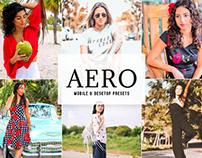 Aero Mobile & Desktop Lightroom Presets