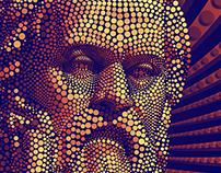 Socrates Digital Circlism (Ben Heine Inspired)
