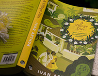 Book Cover Illustration - A Village Dies