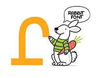 Rabbit font