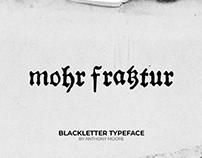 Mohr Fraktur Blackletter Typeface