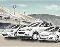 Hyundai // Storyboard