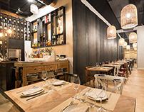 Interior Photography: Serafina's Restaurant