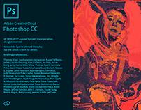 Adobe Photoshop CC splash screen -Unofficial-