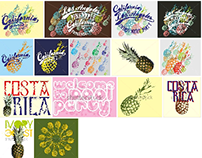 ananas graphic design vector art
