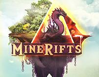 MineRifts Art Logo