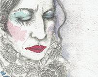"""A Foc i Ferro"" theater leaflets illustrations"
