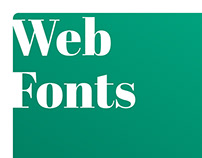 A Starter's Guide to Web Fonts