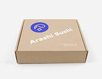 Arashi Sushi | Branding