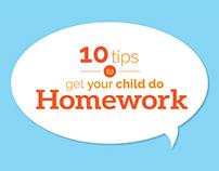 Homework is Fun | Infographic