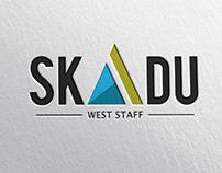 SKADU west staff - logo design&branding