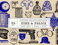 Fire & Police Graphics By: Eclectic Anthology