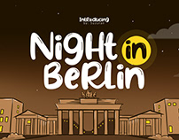 Night in Berlin Font