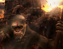 Planet of Apes - Photo Manipulation
