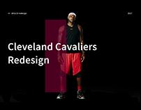 Cleveland Cavs redesign