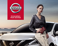NISSAN event site layout design 豪禮雙享