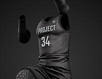 P34 Basketball Mockup - Klay