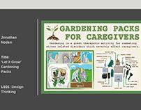 Gardening packs