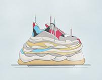 Balenciaga Triple S Cake